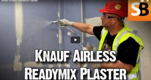 Knauf spray plaster