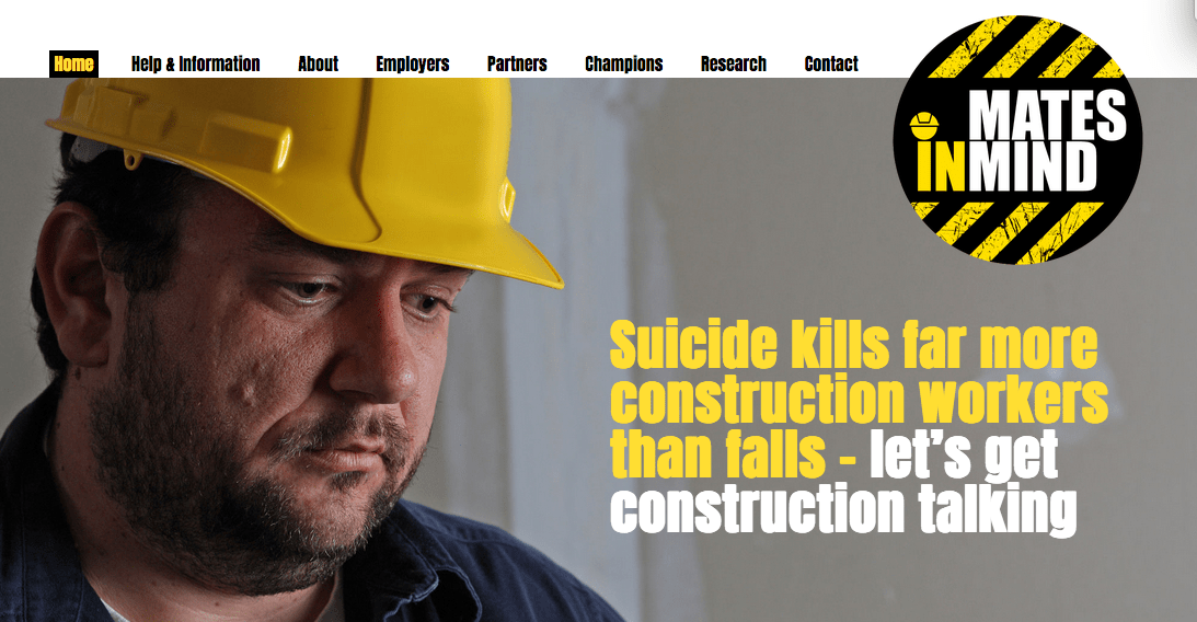 Construction Group Launches Mental Health Campaign Skill