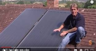 Solar Panels Water Heating