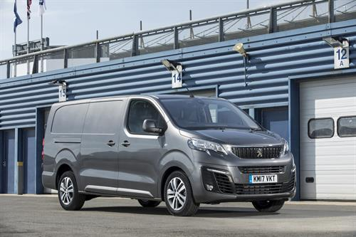 peugeot launches expert long and crew van models skill builder. Black Bedroom Furniture Sets. Home Design Ideas