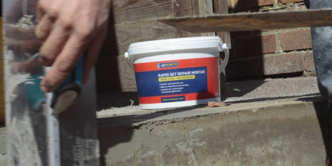 Setcrete Rapid Set Repair Mortar review