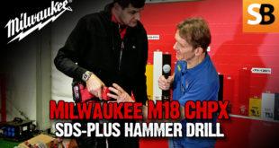 Milwaukee M18 CHPX Drill