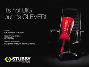 VDE stubby screwdriver