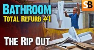 Bathroom Renovation #1 Demolition