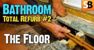 Bathroom Renovation #2 What Lurks Under Floor?