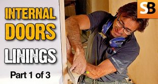 How to Fit Door Frame Lining