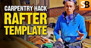 Rafter Template - Carpentry Life Hack