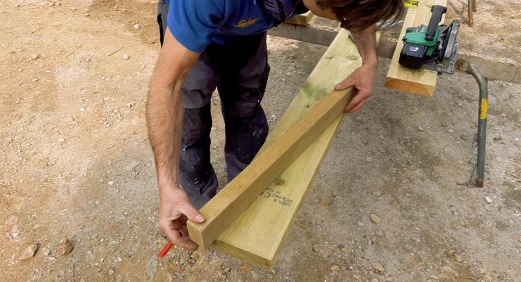 Creating a scarf joint