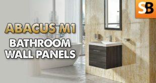 Abacus M1 PVC Waterproof Bathroom Wall Panels