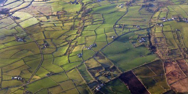 Aerial view of United Kingdom