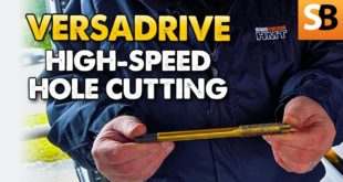 HMT VersaDrive High Speed Hole Cutting