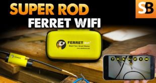 Super Rod Ferret WiFi Cable Pulling Camera