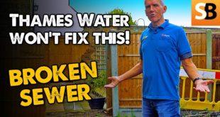 Broken Sewer Nightmare Thames Water Won't Fix