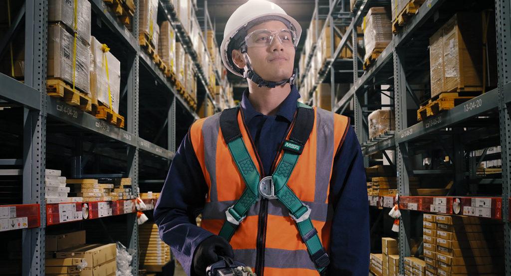 MSA Safety Harness