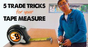 Tape Measure Hacks