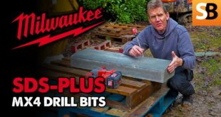 SDS-PLUS MX4 Drill Bits from Milwaukee