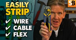 How to Easily Strip Electrical Wire, Cable or Flex