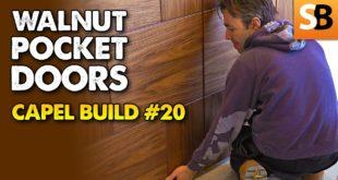 Robin Installs Sliding Pocket Doors
