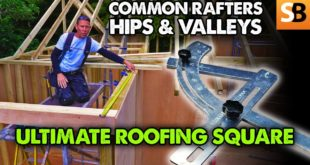 Common Rafters, Hips Valleys with Ultimate Roofing Square