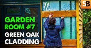 Green Oak Feather Edge Cladding