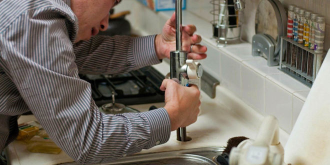 Plumber fitting tap
