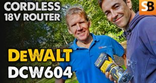 New DeWalt Cordless Router – Compact 18v XR Brushless DCW604