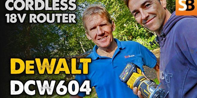 DeWalt Cordless Router 18v XR Brushless DCW604