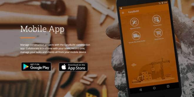 New Mobile Construction App By EasyBuild UK