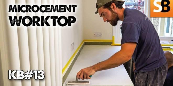 Microcement Kitchen Worktop