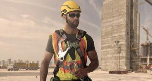V-Gard H1 Safety Helmet Construction Application