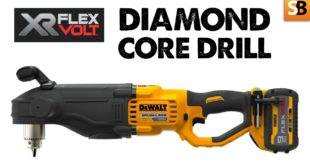 DeWalt DCD470 Right Angle Diamond Core Drill