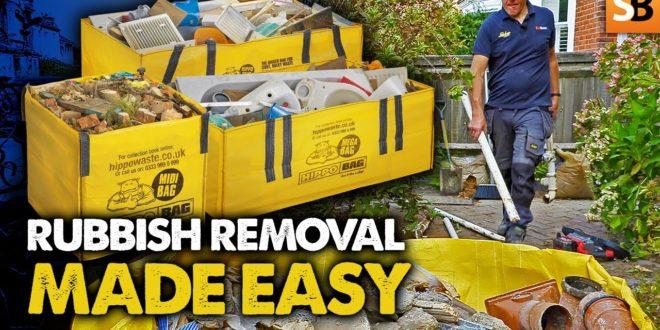 hippobag easy skip bag rubbish removal youtube thumbnail