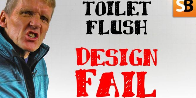 how did your toilet flush become a disaster youtube thumbnail