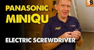 Panasonic EY7412 miniQu Electric Screwdriver