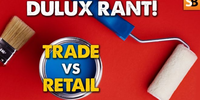 trade paint vs retail are you being ripped off youtube thumbnail