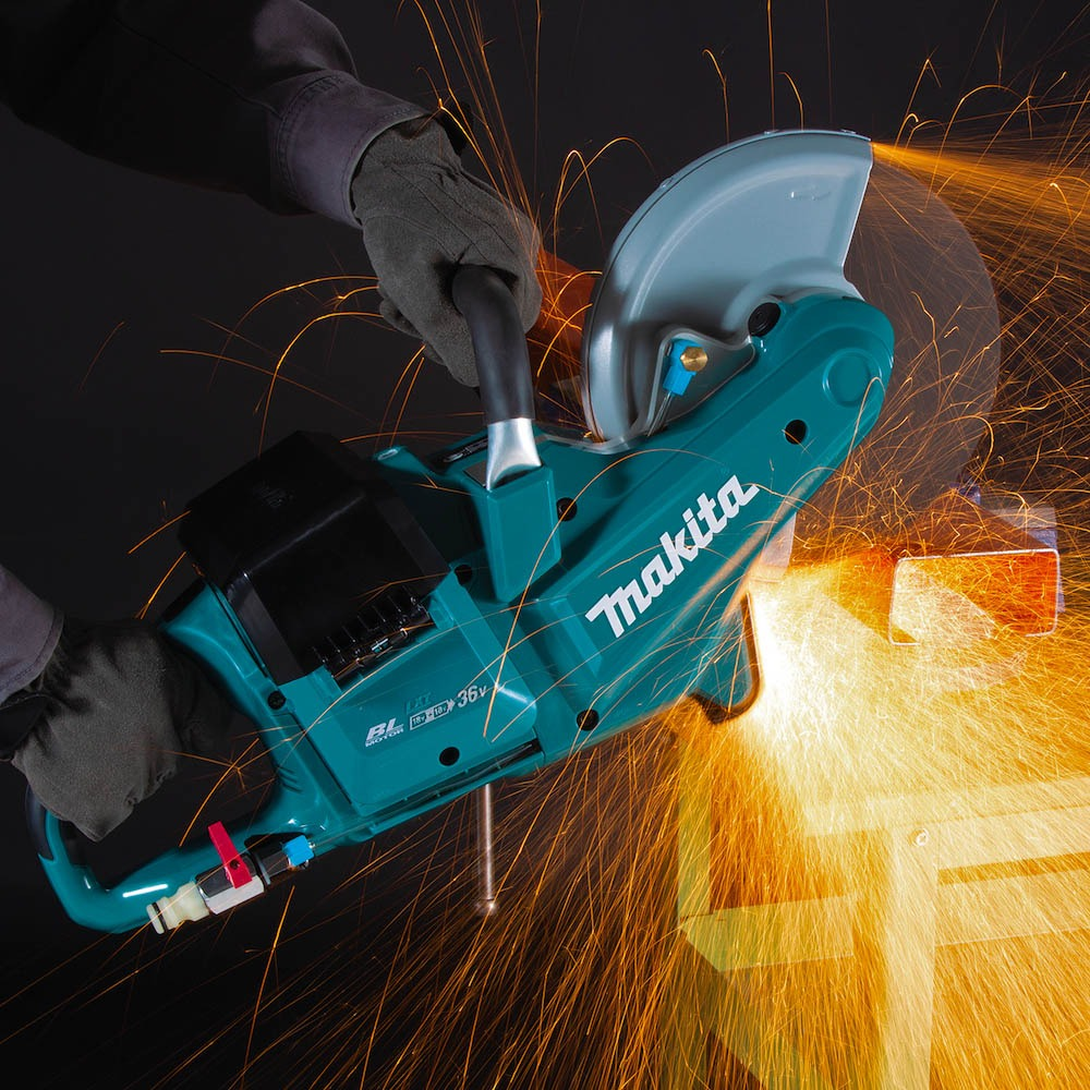 Makita Brushless Disc Cutter DCE090 2