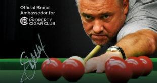 Property Cigar Club Announce Stephen Hendry as Ambassador