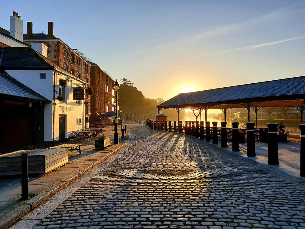 Kate Coldrick - Exeter Quay Christmas Day