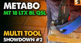 Metabo MT 18 LTX BL QSL ~ Multi Tools #2