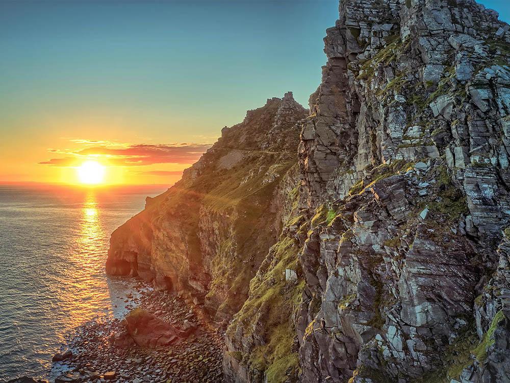 William - Greatrex Valley Rocks North Devon