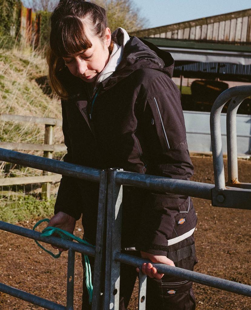 Dickies Womens Performance Waterproof Jacket
