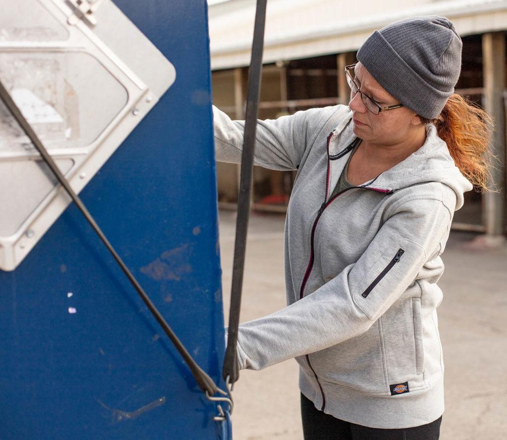 Dickies Womens Performance Zip Through Sweat