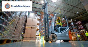 TradeMachines warehouse forklift
