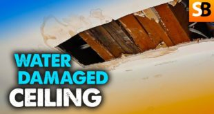 water damaged ceiling can you guess why youtube thumbnail