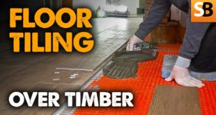 floor tiling over timber like a pro youtube thumbnail