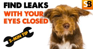how to find a central heating leak with your eyes closed youtube thumbnail