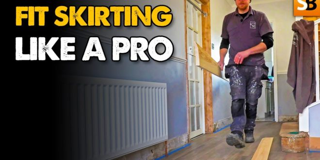 how to fit skirting boards like a pro youtube thumbnail