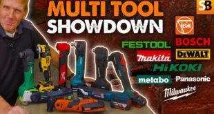 Multi Tool Showdown! Review of 9 Best Oscillating Tools