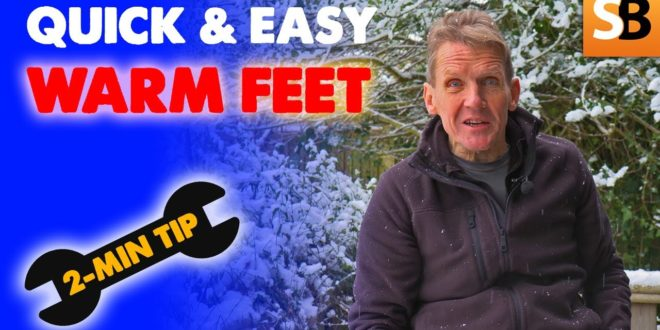 simple trick for warm feet 2 minute tip youtube thumbnail