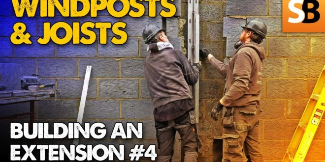 windposts joists how to build an extension 4 youtube thumbnail